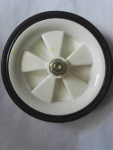 6 Inches Black White Wheel for Air Compressor