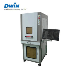 Full Enclosed 20W/30W/50W Fiber Laser Metal Color Marker/Marking Machine Price pictures & photos