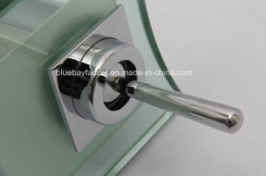 Single Lever Polished Chrome Fitting Wash Basin Mixer pictures & photos