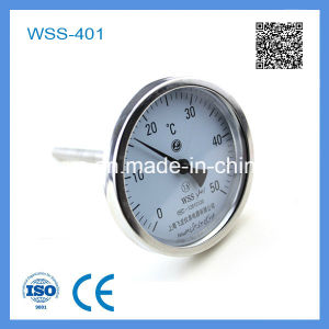 Wss-401 High Quality Stainless Steel Industry Bimetal Thermometer pictures & photos