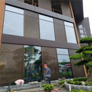 Exterior Laser Cut Panel Facades Stainless Steel Decorative Panel pictures & photos