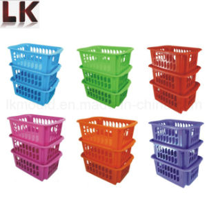 Plastic Injection Molded Fruit Vegetable Basket for Kitchen Storage