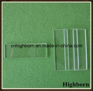 Transparent Fire Polish Square Quartz Glass Microscope Slides for Lab pictures & photos