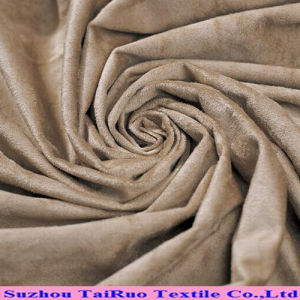 100% Polyester Micro Suede Fabric for Cloths pictures & photos