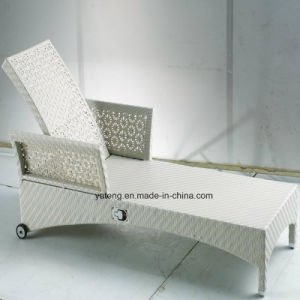Top Quality Woven PE Rattan Furniture Lounge Set with Coffee Table (YTF398) pictures & photos