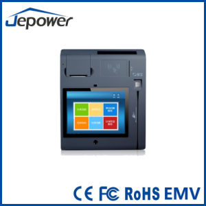 Built in 58mm Thermal Printer Touchscren Android System Financial Card POS pictures & photos