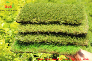 SGS Ce Brown Color Landscaping Artificial Grass for Garden pictures & photos