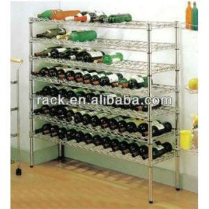 NSF Adjustable Chrome Metal Corner Wine Rack Holders pictures & photos
