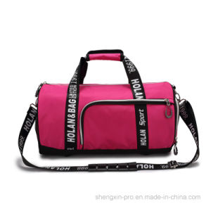 1680d Polyester Sport Bag with Shoes Pocket pictures & photos