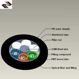 GYTA 48 Core Fiber Optic Cable pictures & photos