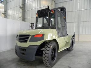 8 Ton Diesel Forklift Truck 8000kgs Capacity Forklift pictures & photos