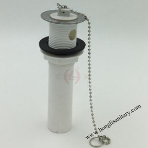 52002 Plastic Kitchen Sink Drain with Stopper and Overflow pictures & photos