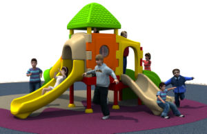 Indoor Playground Plastic Slide (HD15A-146A) pictures & photos