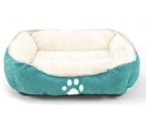 Pet Line Medium Size Pet Beds Paw Print Pet Bed pictures & photos