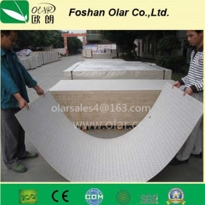 Sound-Absorption Board Fiber Cement Acoustic Panel pictures & photos