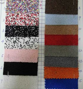 Beads Twill Glitter Fabric for Decoration pictures & photos