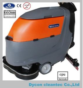 Double Brush Aotumatic Floor Scrubber for Big Area pictures & photos