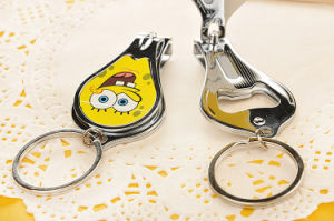 Promotional Gifts Custom Design Nail Clipper Key Ring Bottle Opener pictures & photos