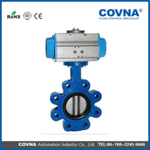 Ductile Pneumatic Control Aluminum and Broze Butterfly Valve