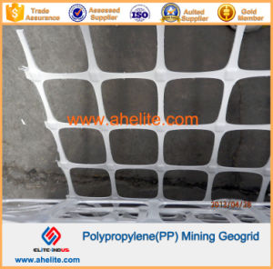 Polypropylene PP Mining Mine Geogrid with Flame-Retardant Polymer pictures & photos