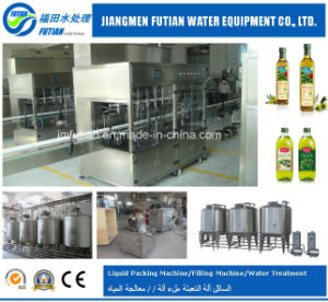 Automatic Bottle Edible Oil Filling Machine
