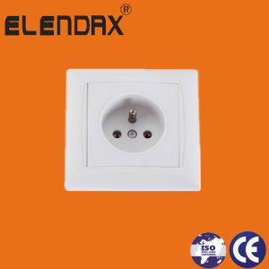 French Standard Surface Mounted Wall Socket Outlets New pictures & photos
