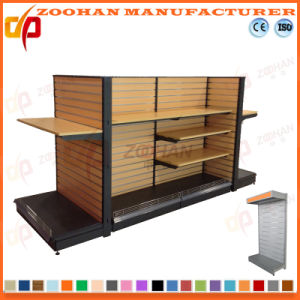 New Customized Supermarket Wooden Retail Store Fixture (Zhs255) pictures & photos