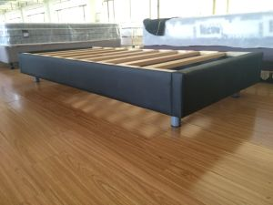 Knock Down Box Package Cheap Solid Wood Bed Base pictures & photos