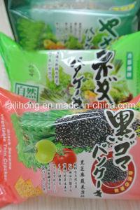 Vegetable Thin Cracker (shallot, black sesame, vegetable flavour)