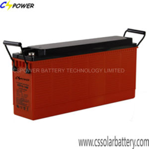 Manufacturer Front Terminal Lead Acid Battery Ft12-105/110 for Solar Power pictures & photos