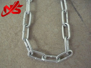 Galvanized DIN 766 Steel Link Chain pictures & photos