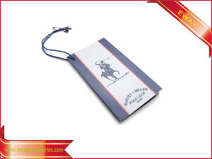 High Quality Garment Tag Paper Hang Tag (HT-EW-17) pictures & photos