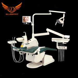 Hot Selling Gladent Dental Chair with Rotatable Unit Box pictures & photos