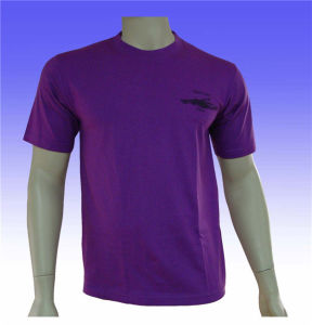 Multy Color Available Solid Mens Custom T Shirt pictures & photos