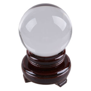 90mm Top Clear Transparent Crystal Ball Shiny Glass Photosphere pictures & photos