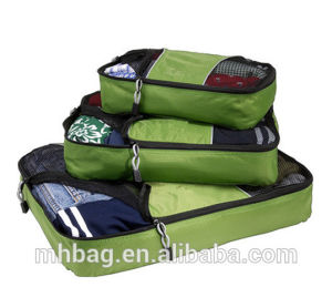 3-in-1 Packing Cubes Set Travel Bag Organizer Bag pictures & photos