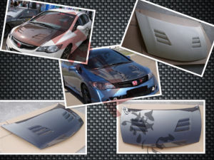Carbon Fiber Hood for Honda Civic Fd2 (JDM) 2006+ pictures & photos
