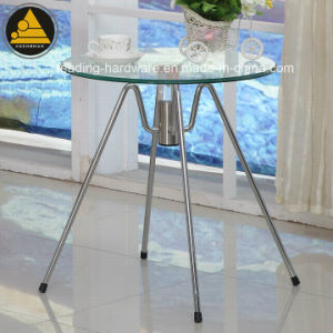 Glass Top Bar Side Table pictures & photos