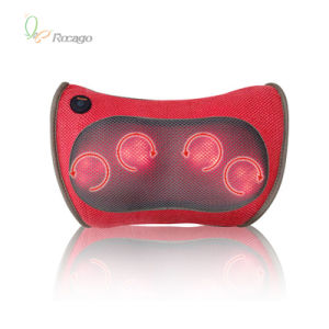 Infrared Body Massager Popular Car Massage Pillow with Heating pictures & photos