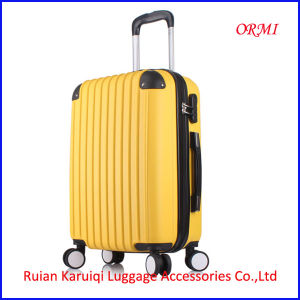 Colorful Plastic Cover Urban Travel Luggage Bags pictures & photos