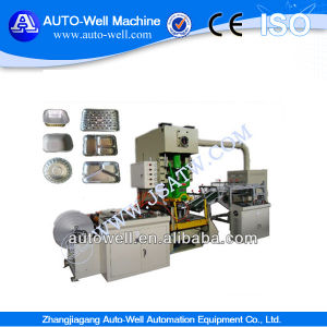 Full Alutomatic Disposable Aluminum Foil Plate Making Machine pictures & photos