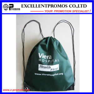 Cheap Custom Logo Printed Polyester Drawstring Backpack (EP-B6192) pictures & photos