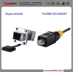 Network Cable Connectors/RJ45 Modular Jack/RJ45 Plug Shielded pictures & photos