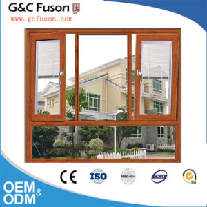 Factory Price Double Glazing Tempered Glass Casement Aluminum Window pictures & photos