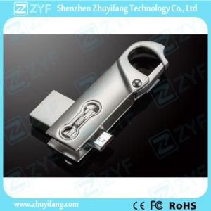 2016 New Design Metal Swivel 16GB OTG USB Flash Drive (ZYF1614) pictures & photos