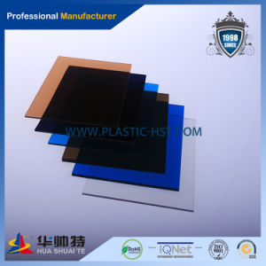 10 Years Transpaerent Polycarbonate Solid Sheet for Roof/Canopy pictures & photos