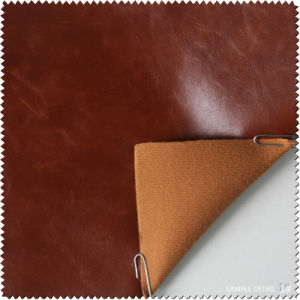 Crazy Horse PU Leather for Shoe (S209090FM) pictures & photos