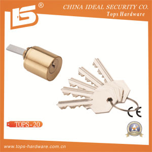 High Quality Brass Round Cylinder Lock (TOPS-20) pictures & photos