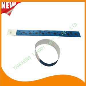 Tyvek Entertainment Custom Party VIP Paper ID Wristbands (E3000-1-87) pictures & photos