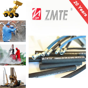 SAE R12 Super High Pressure Spiral Wire Rubber Hydraulic Hose pictures & photos